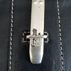 Michael Kors Bags - Vintage Michael Kors Leather Trim and Nylon Sachel